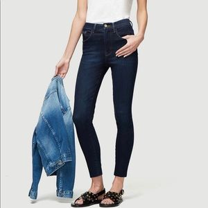 FRAME Le High Straight Ankle Skinny Jean